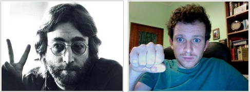 Rock wins against scissors. Bye John.