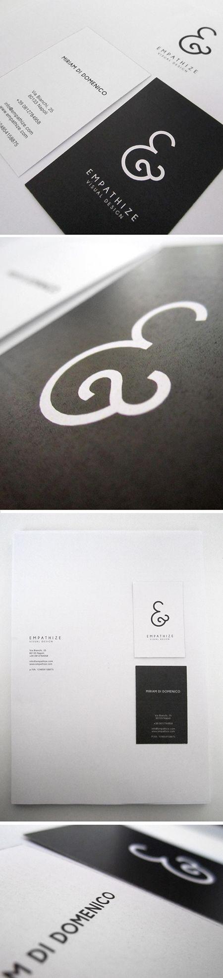 © Miriam Di Domenico | #Business #Card #letterpress #creative #paper #businesscard #corporate #design #visitenkarte #corporatedesign < repinned by www.BlickeDeeler.de