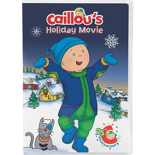 "Caillou's Holiday Movie - 25th Anniversary DVD -  NCircle Entertainment - Toys""R""Us"