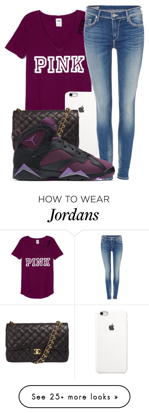 """I Guess You Ain't A Freak No More✨"" by callmejazzy on Polyvore featuring Chanel, True Religion, NIKE, women's clothing, women's fashion, women, female, woman, misses and juniors"