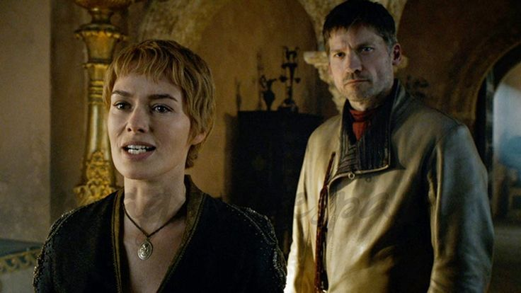 """""""Juego de Tronos"""": Capítulos 6 y 7 Lena Headey y Nikolaj Coster Waldau © HBO"""