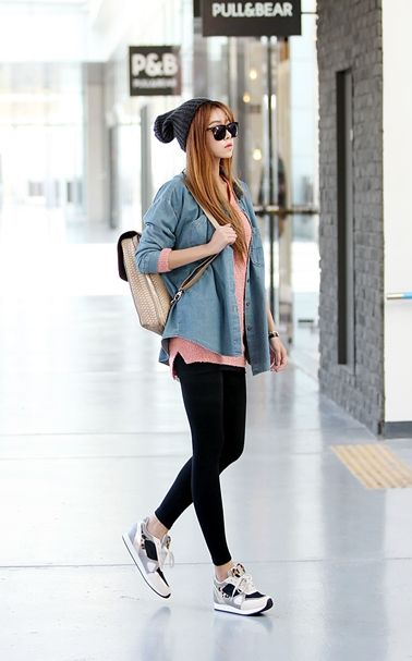 Cute casual...change the shoes to vans or converse tho