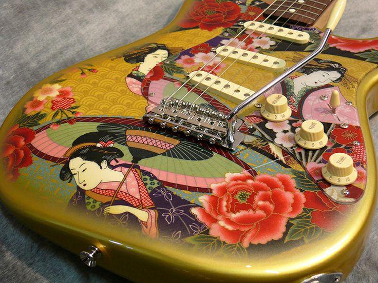 Fender Japan ST62-SPL Stratocaster.
