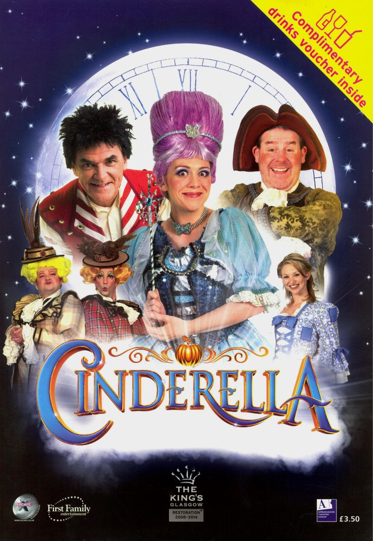 Cinderella starring Gerard Kelly, Andy Gray and Karen Dunbar (2008/9)