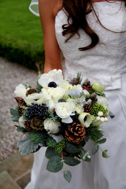 Eucalyptus Bouquet Wedding