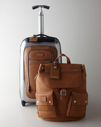 """""""Ducati"""" Travel Bags by Tumi at Neiman Marcus."""