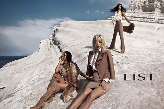 Preview LIST fall/winter 14/15 ADV campaign by Nima Benati