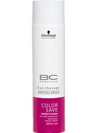 Schwarzkopf Color Save Shampoo & Conditioner : Kept my bright red hair vibrant for 6 weeks ! Smells amazing, too :)