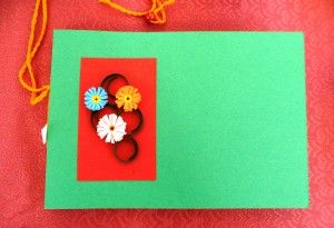 quaderno quilling / notebook quilling