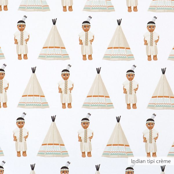 Indian tipi behang | Producten | Studio ditte