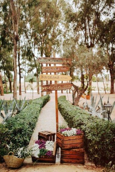 Una boda elegante, original y...¡De película! | TELVA