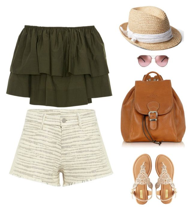 """""""Untitled #2"""" by christie-devina on Polyvore featuring IRO .JEANS, Apiece Apart, Gap, Qupid, Robe di Firenze and Tory Burch"""