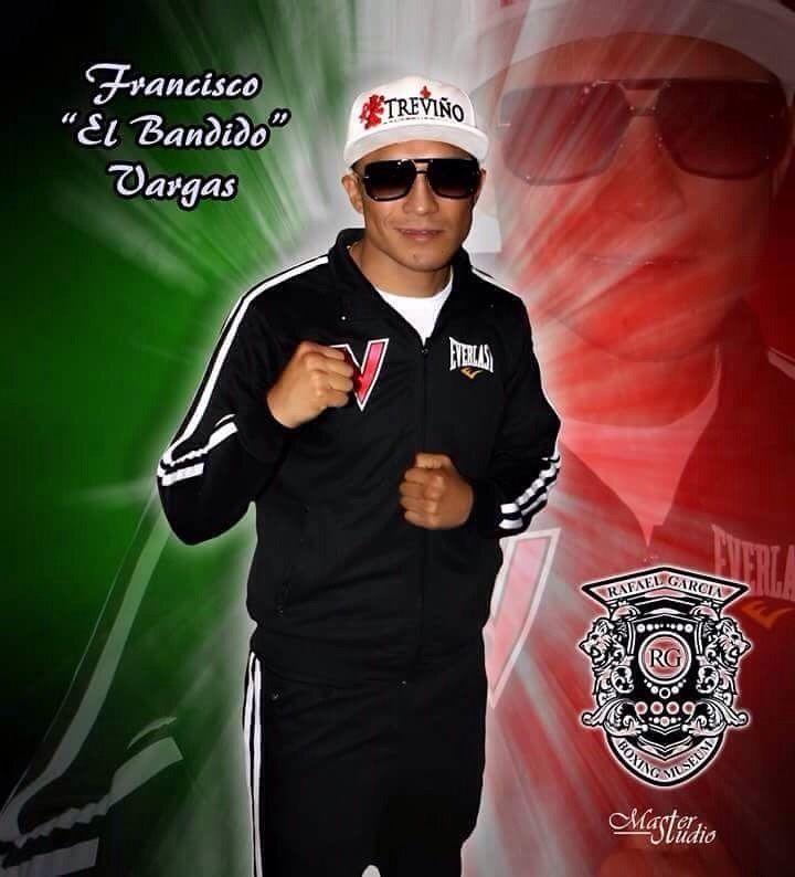 El ex campeón súper pluma del Consejo Mundial de Boxeo, Francisco Vargas conocido en el mundo de los guantes como el