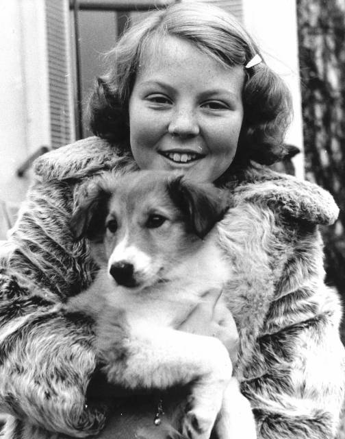 Queen Beatrix aged 12