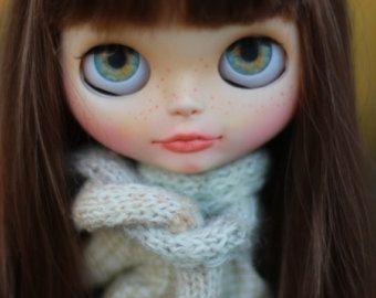 Christmas Special Price Custom Blythe doll Tess by BigEyesBlythe