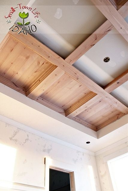 Our Small-Town Idaho Life: MASTER BEDROOM WOOD CEILING {DIY}