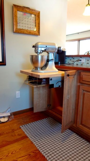 Cabinets Kitchen Aid Mixer And Blog On Pinterest