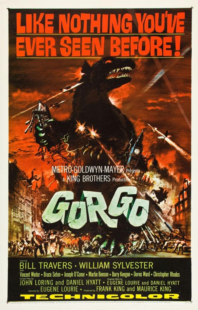 Gorgo / 怪獣ゴルゴ (1961)