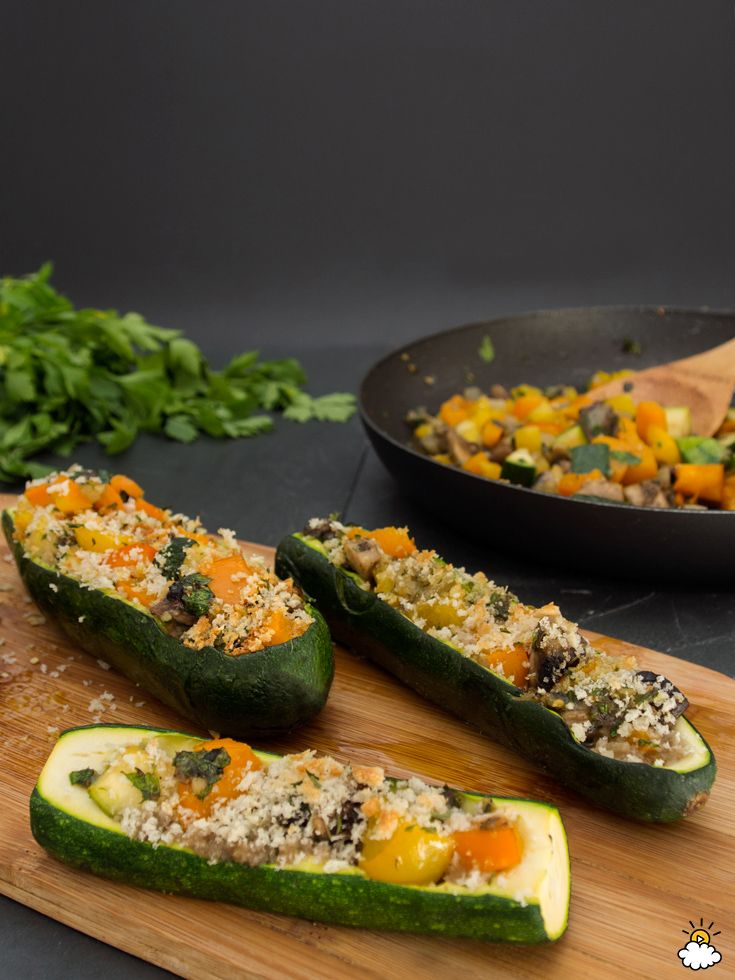 Delicious Zucchini Party Boats Are A Healthy Treat For A Late Summer Dinner via…