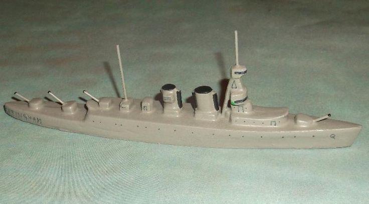 """Wiking / Pilot Schiff Modell """"Effingham"""" Wasserlinie"""