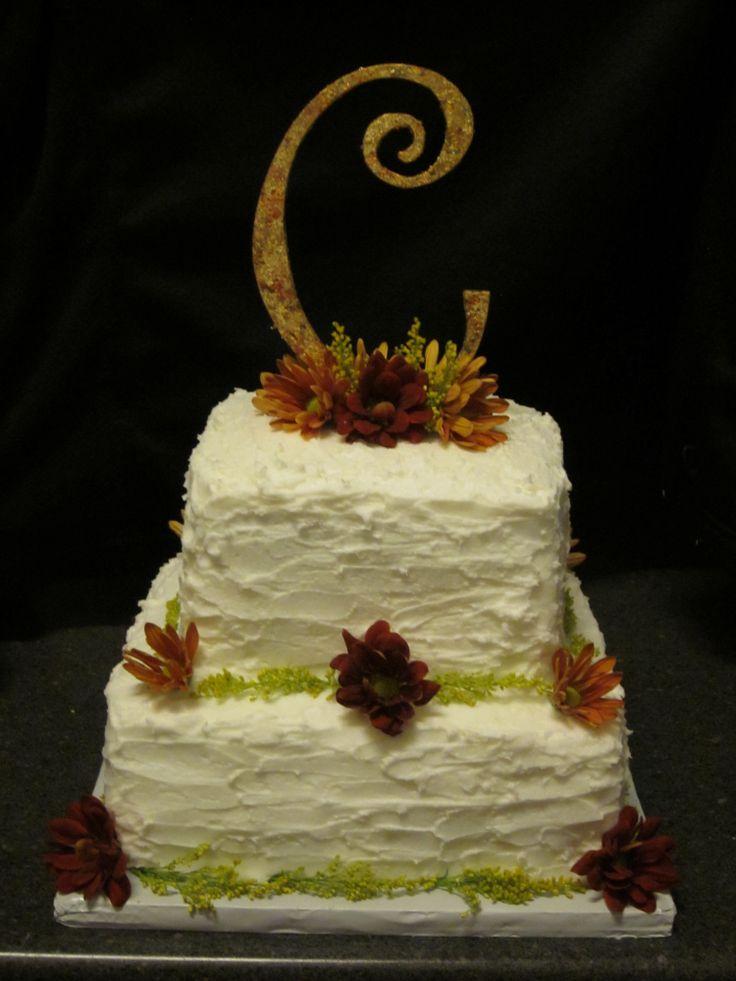 Square Wedding Cakes - Matt and Laura's wedding.