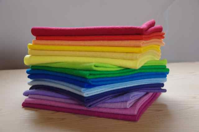 Winterwood felt - Commercially Dyed 100% Pure New Wool Felt - 50 x 45cm