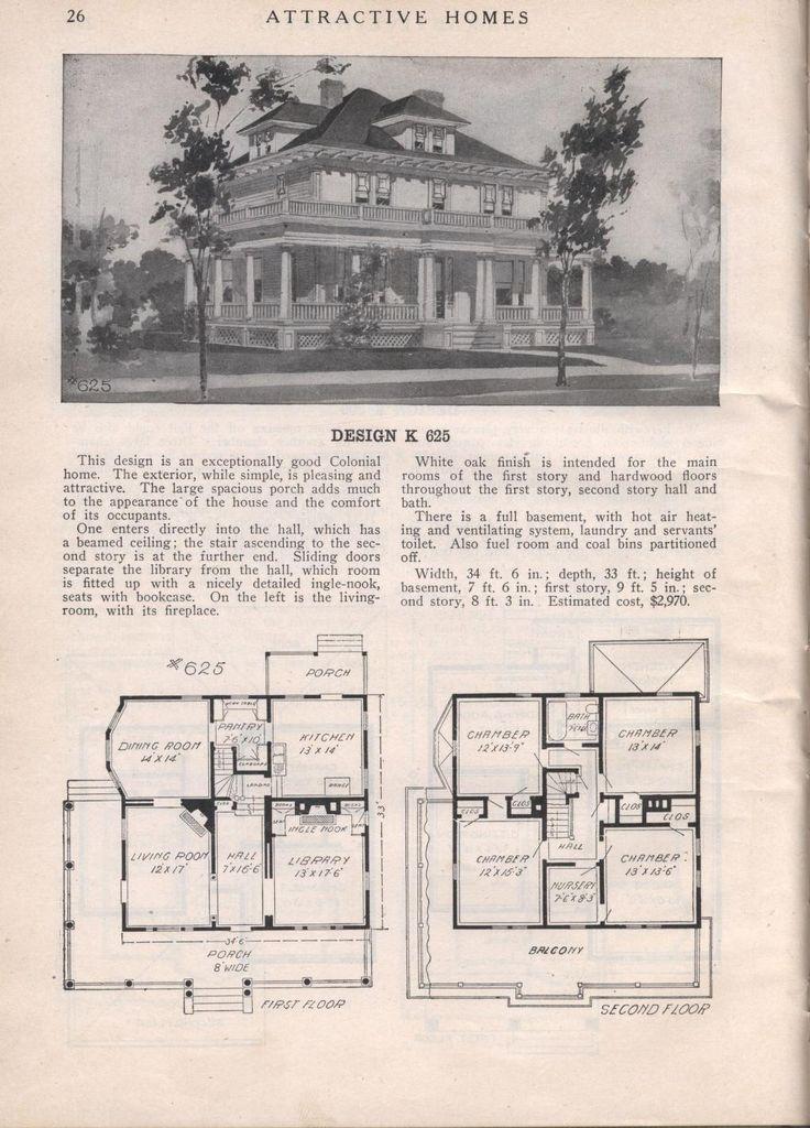 1912 house designs
