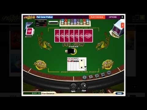 FREE Pai Gow Poker @ Club Players & Zero House Edge