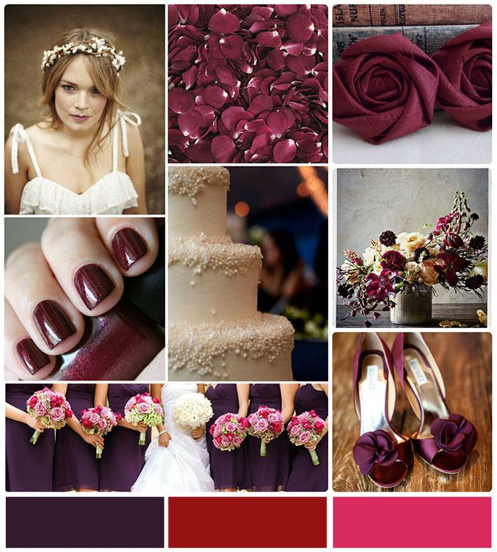 Wedding Color Ideas: 25+ Best Ideas About Wine Colored Wedding On Pinterest