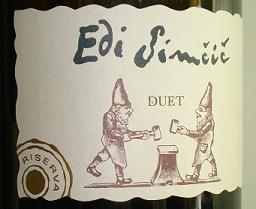 2001 Edi Simcic, Duet Riserva, Goriska Brda, Slovenia