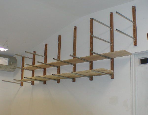 Lumber Storage Or A Drying Rack For Painting Staining