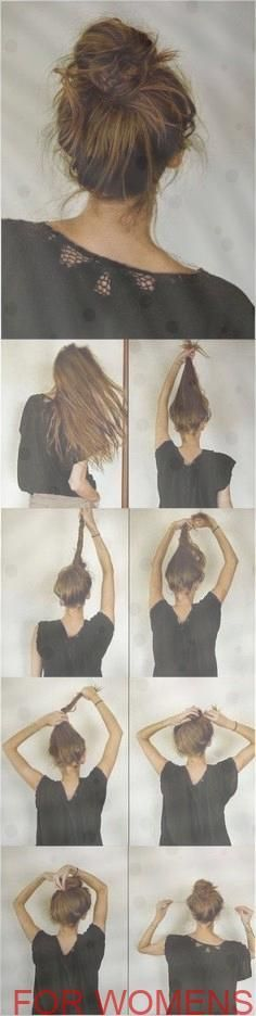 10 Gorgeous Messy Bun Hairstyles // #Hairstyles #Messy # Gorgeous Check more at http://hereva