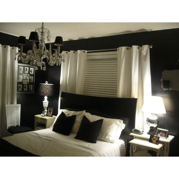 Black and White Girls Bedroom Ideas With Enticing Pictures Photos Images Galleries of Home Design Ideas found on Polyvore