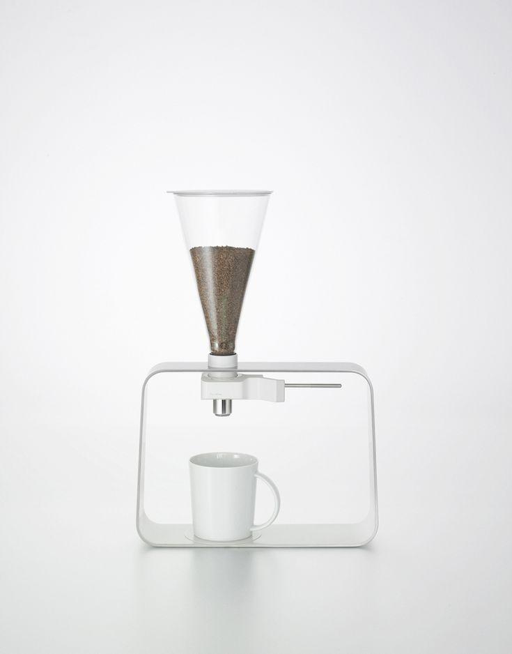 Instant Coffee Dispenser prototype by Iwasaki Design Studio