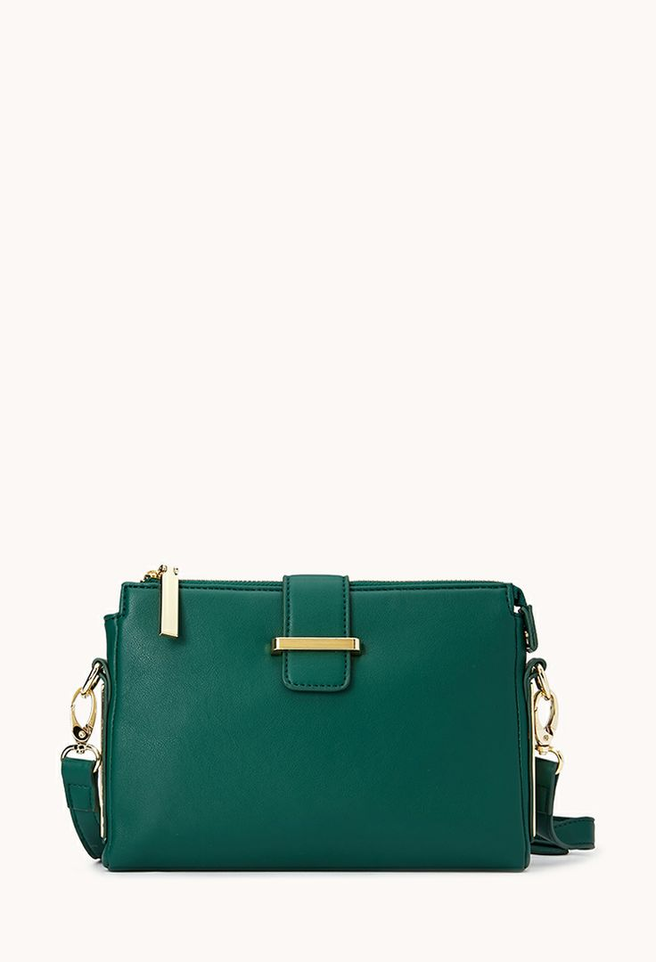 All-Day Sleek Crossbody   FOREVER21 A bag for all day and night #ForeverHoliday #WishPinWin