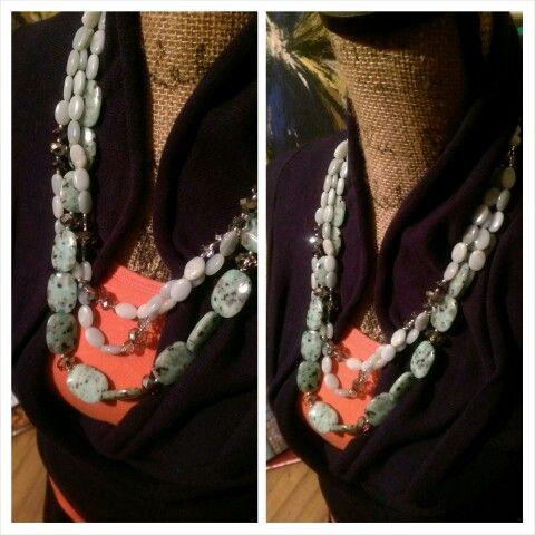 Three strand really necklace