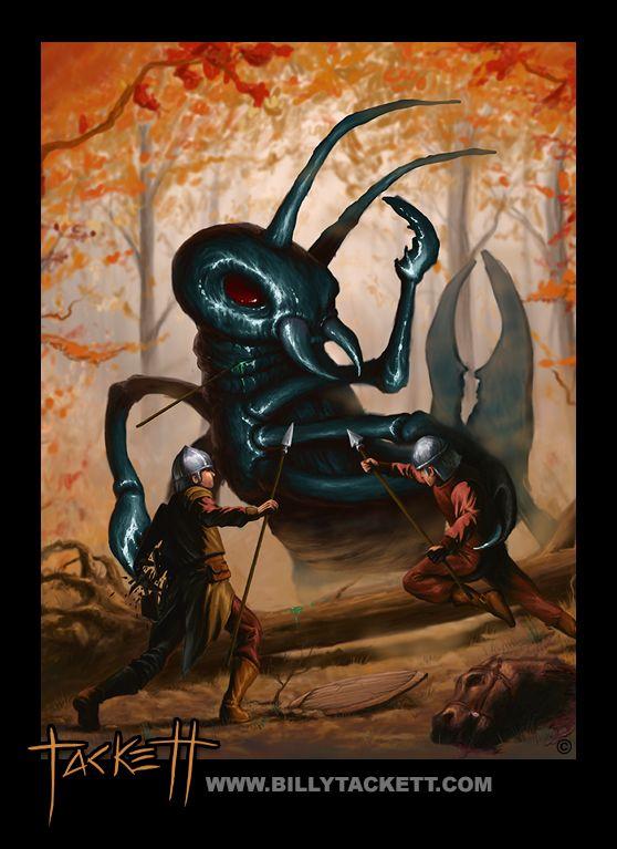 COLOR ART « Billy Tackett Studios - A Demon's Quest