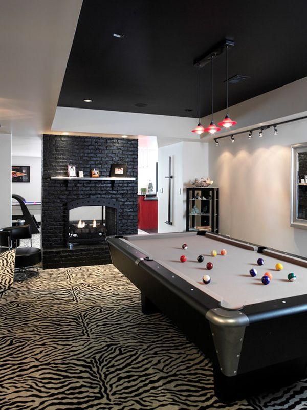 Beautiful Pool Hall Design Ideas