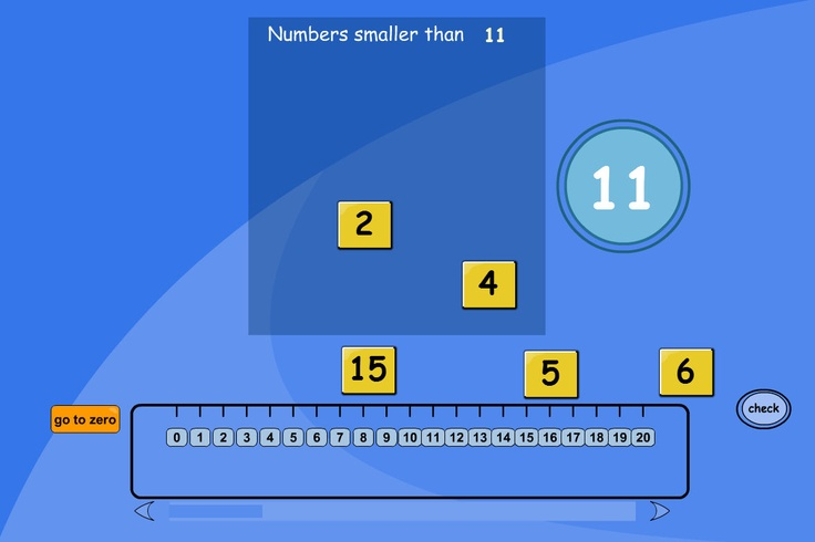 Compare Numbers - Smaller Than: Compare numbers to find those smaller than a given number.