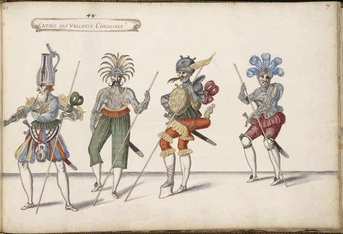 entry of the brave fighters ballet des fes des forts de saint germain ballet de cour pinterest ballet saints and daniel oconnell