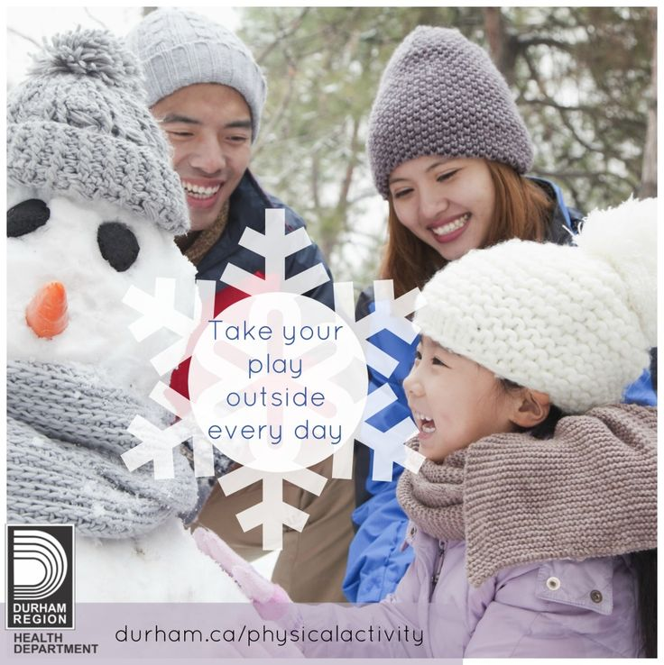 Did you know? Only a third of children and youth are playing outdoors for several hours per day. Outdoor play is essential because kids are more active when they are outside. And it's a great way to have fun and make some new friends….people or snowmen! Why not try a game of Icicle Tag next time? Check out our resource to learn how.