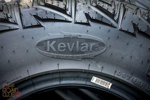 Шины Goodyear MT/R с кевларом.