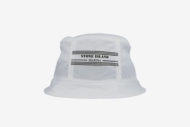 Marina Bucket Hat by Stone Island on What Drops Now