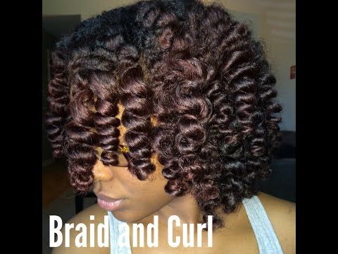 Super Cute Braid and Curl Tutorial Ft. Eden BodyWorks Products – YouTube