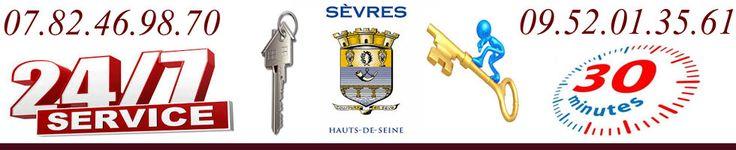 Nos serruriers Sèvres sont équipés de matériel professionnel adapté pour une optimisation du temps d'intervention. Avant chaque intervention le serrurier de Sèvres vous établiras un devis détaillé par écrit.