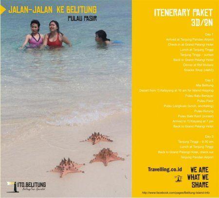 http://wisatabelitungisland.com/  menyediakan paket murah untuk anda mengelilingi pulau seindah Belitung