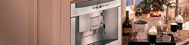 Built-in fully automatic coffee machine?  I'm sold!