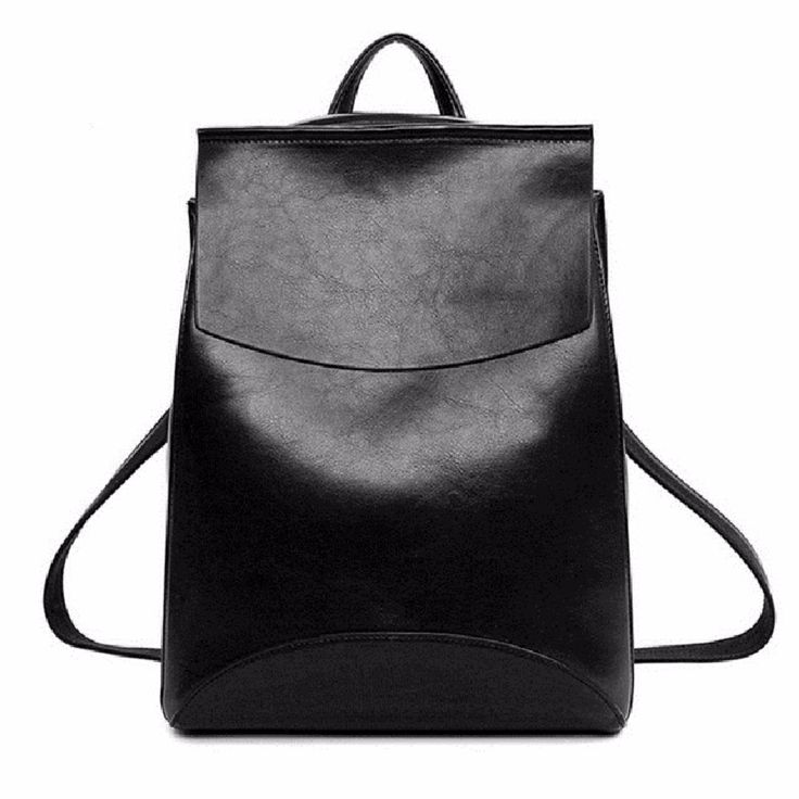 Designer Leather Backpack For Women //Price: $17.95 & FREE Shipping //
