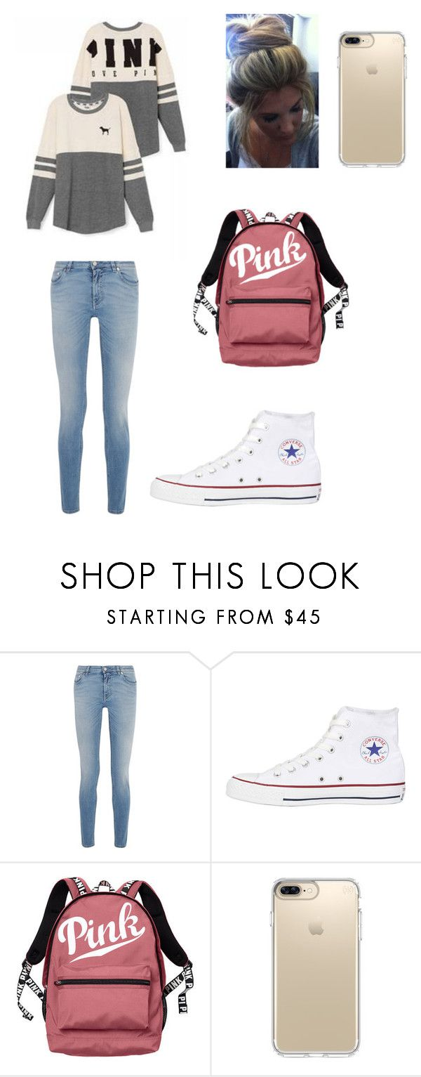 """""""school clothes"""" by jsteely-1 on Polyvore featuring Givenchy, Victoria's Secret, Converse and Speck"""
