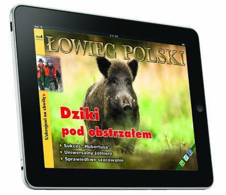 """Nie czekaj na listonosza! Wszystkim użytkownikom przenośnych urządzeń elektronicznych, którzy nie chcą czekać na listonosza, polecamy mobilną wersję """"Łowca Polskiego""""! To najszybsza i najnowocześniejsza forma zakupu pojedynczych numerów bieżących i archiwalnych oraz prenumeraty:  ➤ za pośrednictwem App Store / iTunes –https://itunes.apple.com/pl/app/owiec-polski/id865437295…, i ➤ za pośrednictwem Google Play –https://play.google.com/store/apps/details?id=pl.lowiecpolski.lowiec&hl=pl"""
